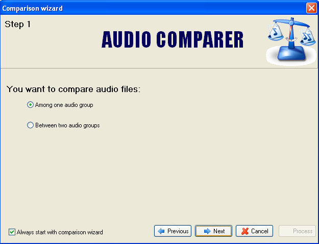 Audio Comparer tutorial